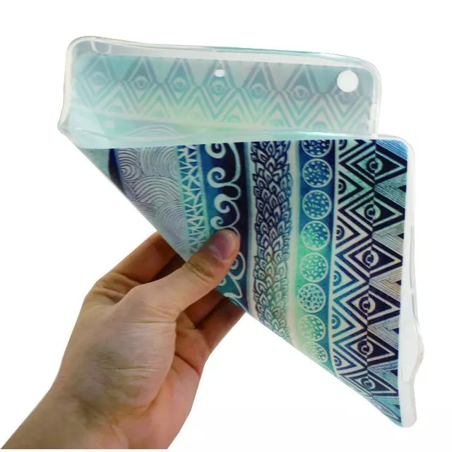 TPU Soft Clear Case for Apple iPad 2 3 4 9.7 Lovely Silicon Ultra Cover for iPad 2 ipad 3 ipad 4 Slim Skin Shell