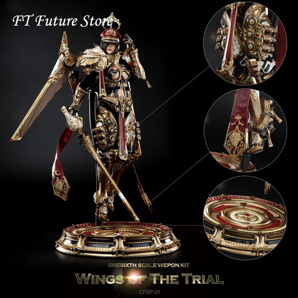 In Stock 1/6 cpsp-01 Female Action Figure Wings of The Trial Full Set Doll with Weapon Accessory Model for Fans Collection GiftsIn Stock 1/6 cpsp-01 Female Action Figure Wings of The Trial Full Set Doll with Weapon Accessory Model for Fans Collection Gifts