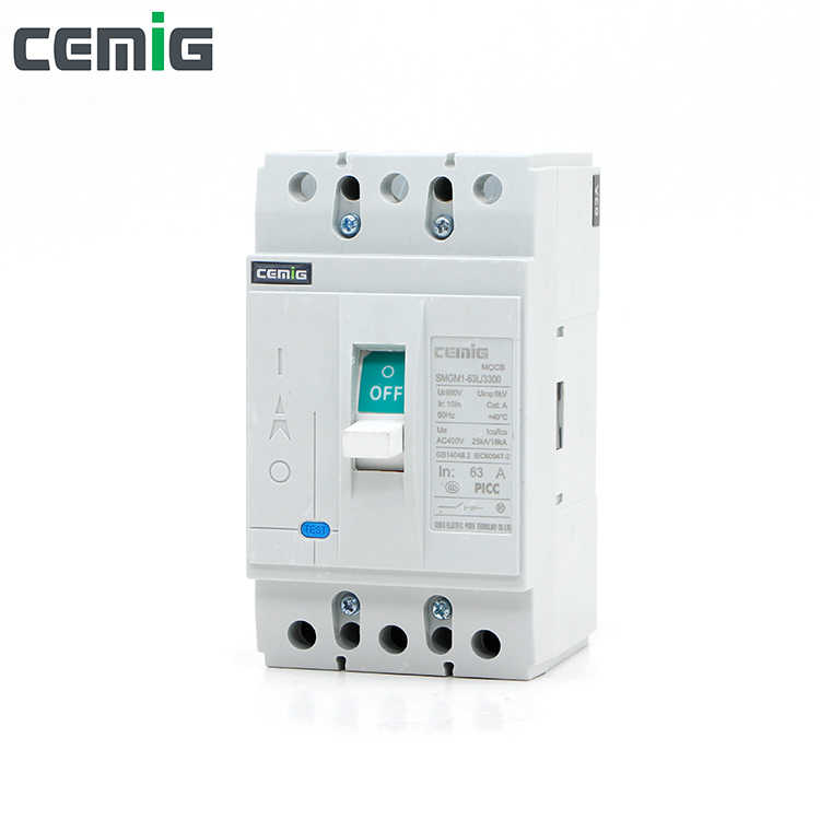 Cemig High quality moulded case circuit breaker molded case MCCB SMGM1-63L