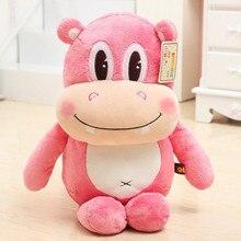 cute cartoon hippo doll plush toy hippo doll soft throw pillow 70cm birthday gift x076