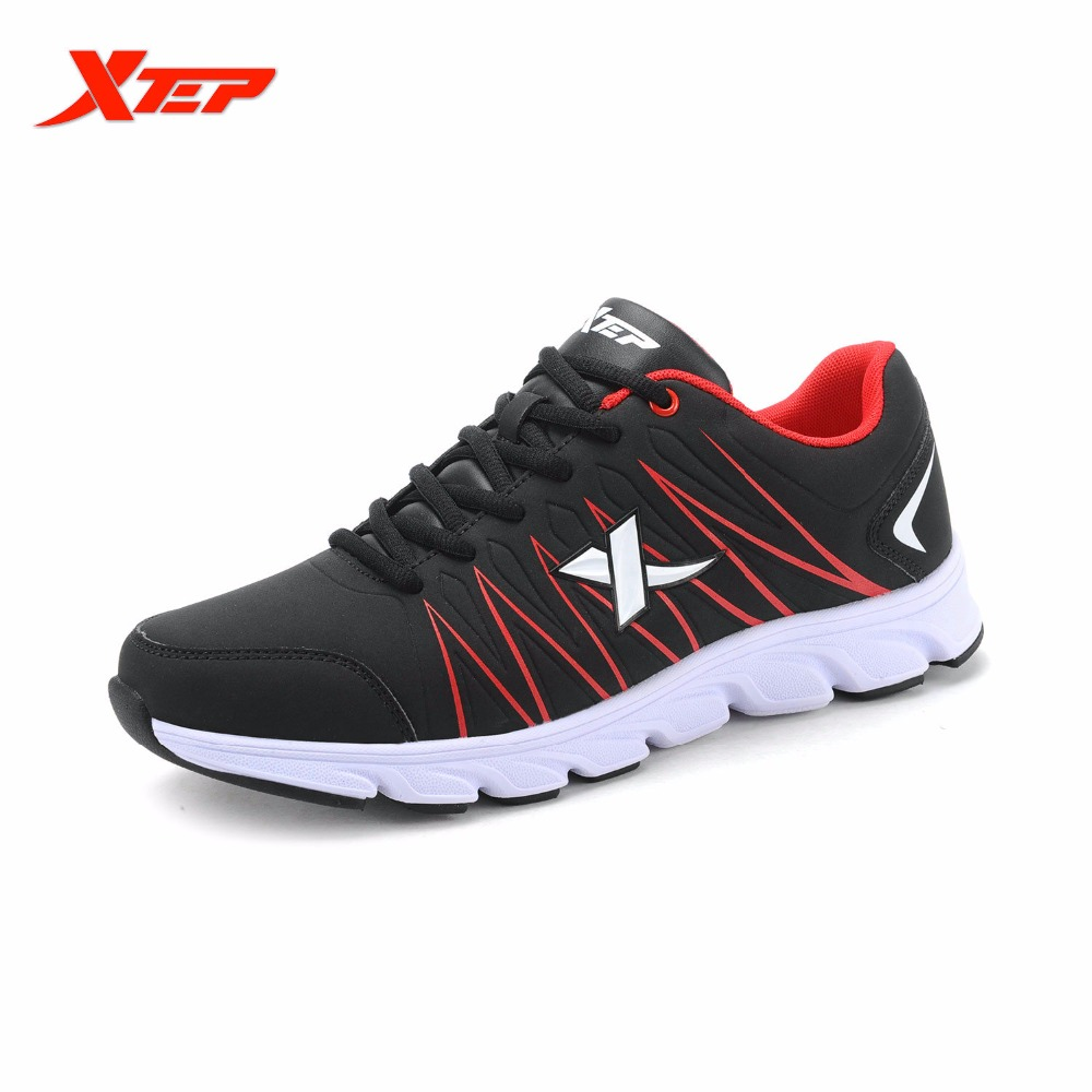ФОТО XTEP Brand Professional Mens Running Shoes Comfortable Outdoor Sports Rubber Sneakers Athletic Trainers Shoes 984119119517