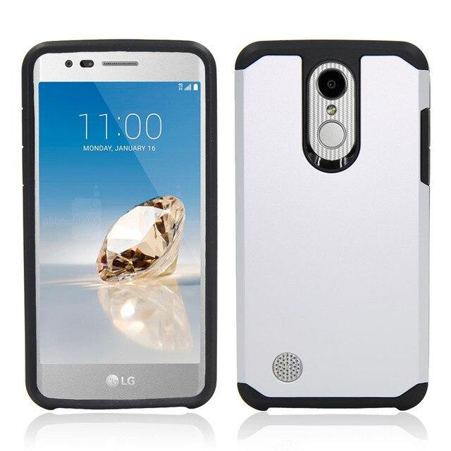 silver Phone case lg k20 5c64f482942dd
