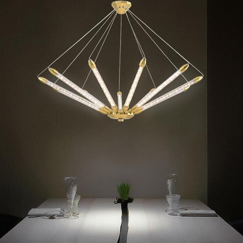 Postmodern Chandelier Creative Personality Designer Geometric Lamps Nordic LED Art Living Room Dining Room Bedroom Chandelier