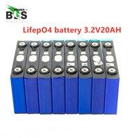 20 pces lifepo4 3.2v 20ah ciclos de longa vida 3500 vezes max 10c 200a bateria para elétrica bicicleta motor bateria pacote diy|Baterias recarregáveis|   -