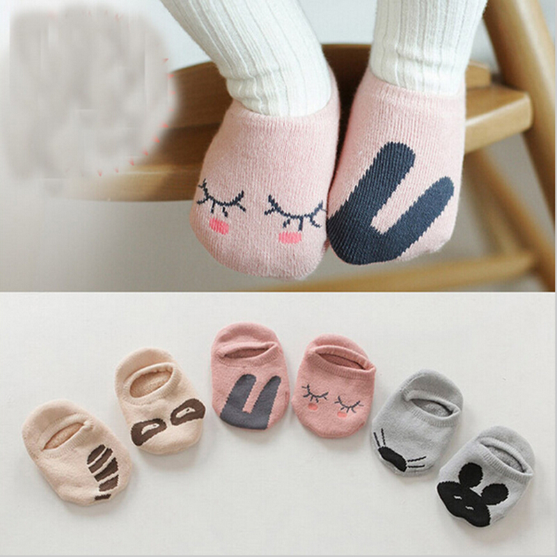 Cartoon Cute Baby Socks Anti Slip Baby Socks Cute Animal Pattern Boy Girl Socks Baby Cotton Socks Spring Autumn Baby Clothing