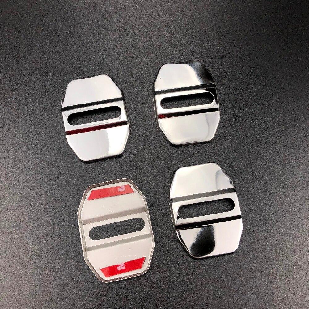 4pcs/set Car Door Lock Cover Cap Protective For BMW X1 X3 X5 X6 X7 M3 M4 M5 M6 325 328 F30 F35 F10 F18 GT 1 2 3 4 5 6 7 Series