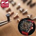 8 peças/set PVD preto/prateado/rosa de ouro 5 pinos relógio RM parafuso para Richard milha relógio caso bezel volta RM011 RM052 RM27 RM050