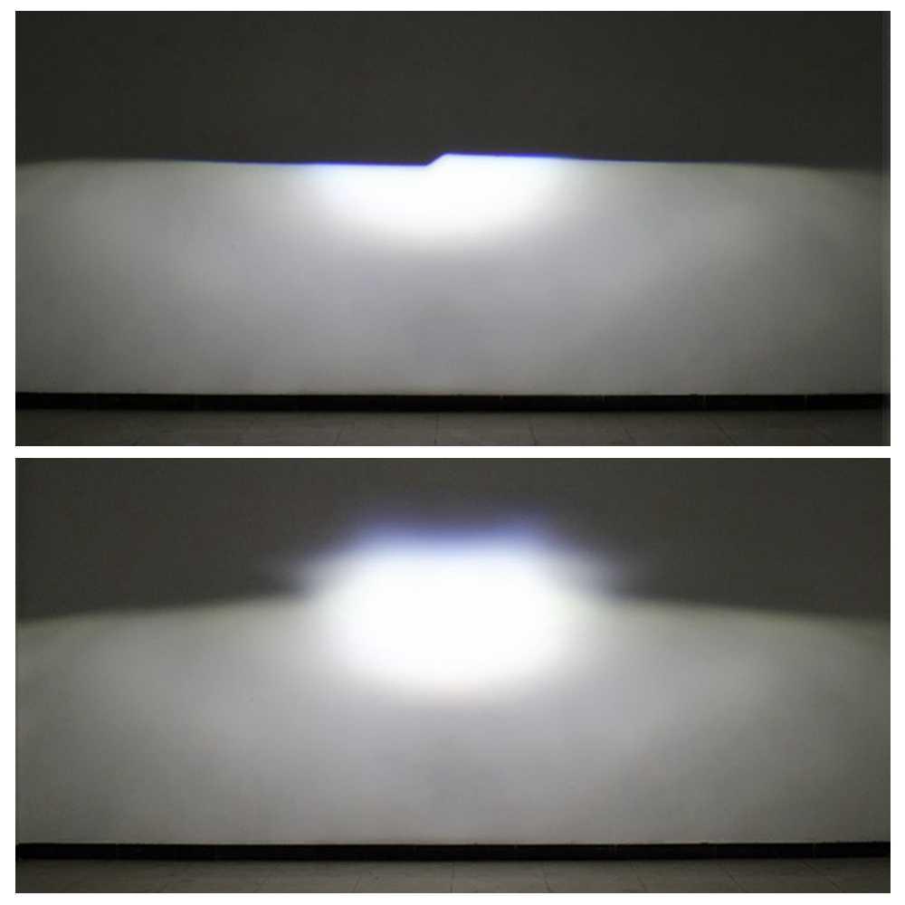 35 W би светодиодный прожектор с линзой для автомобиля модернизации изменить universial светодиодный фар высокого ближнего света ксеноновые объектива fit h1 h4 h7 d1 hb3 hb4