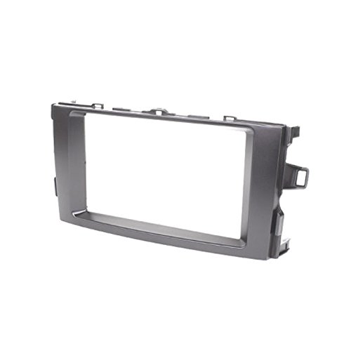 2 Din Car Radio Stereo Fascia Panel Frame DVD Dash Installation Kit for Toyota Auris 2006-2012 with 173*98mm 2 din car radio stereo fascia panel frame dvd dash installation kit for ssang yong tivoli 2015 with 178 102mm 173 98mm