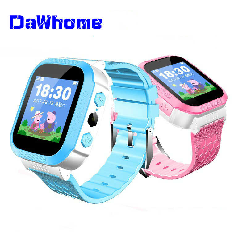 2019 Anti-lost Child Kid Smart Watch Positioning LPS Watch Wrist Fitness Track Location SOS Call Safe Care For Boy Girl Gift