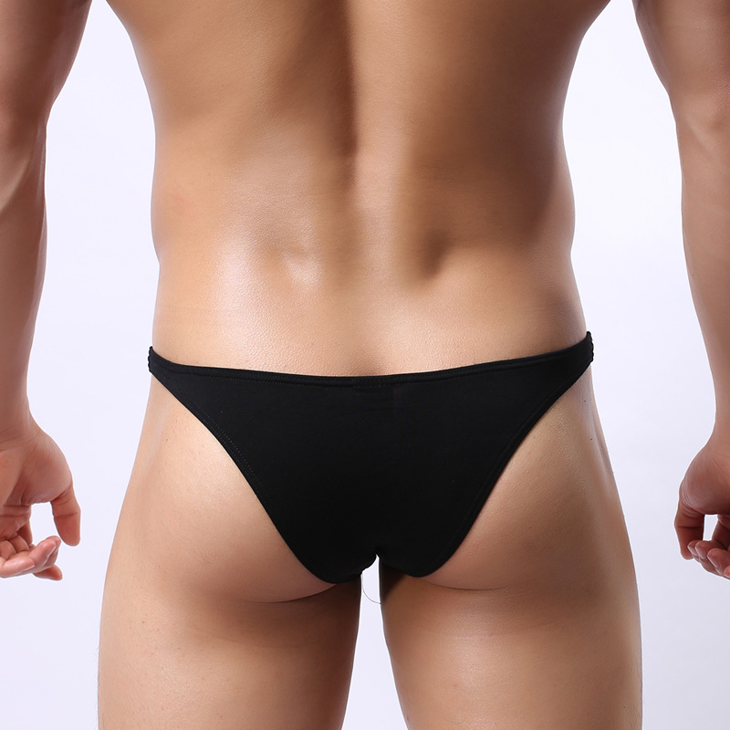 Sexy Men's Mini Underwear Soft Men Briefs Breathable Modal Male Panties Underpants Brand Cueca Brief No Trace High Quality