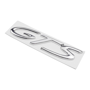 Image 3 - Car Badge Front Side Truck Lid Emblem GTS Logo For Porsche 718 Cayenne Turbo Macan Panamera Exterior Accessories Auto Styling