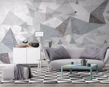 Beibehang Personalizado Moderno Minimalista Abstracto Geometrico