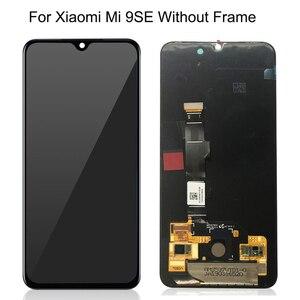 Image 5 - Witrigs AMOLED dla Xiao mi mi 9 wyświetlacz LCD ekran dotykowy Digitizer zgromadzenie mi 9 9SE SE wymiana