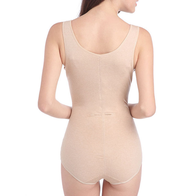 Slimming Tummy Control Women Underwear Full Body Shaper Sexy Girdle Lace Cincher Seamless Zipper Abdomen Postpartum Women Corset