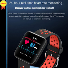 high quality IP67 Waterproof Smart wristband 1.54 Color Sport Display Bracelet Smart Fitness tracker HR BP monitor Smart watches