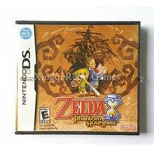 Nintendo nds игры легенда о zelda phantom hourglass видео игры картридж консоли карты сша английская версия