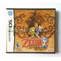 Nintendo NDS Game The Legend Of Zelda Phantom Hourglass Video Game Cartridge Console Card US English