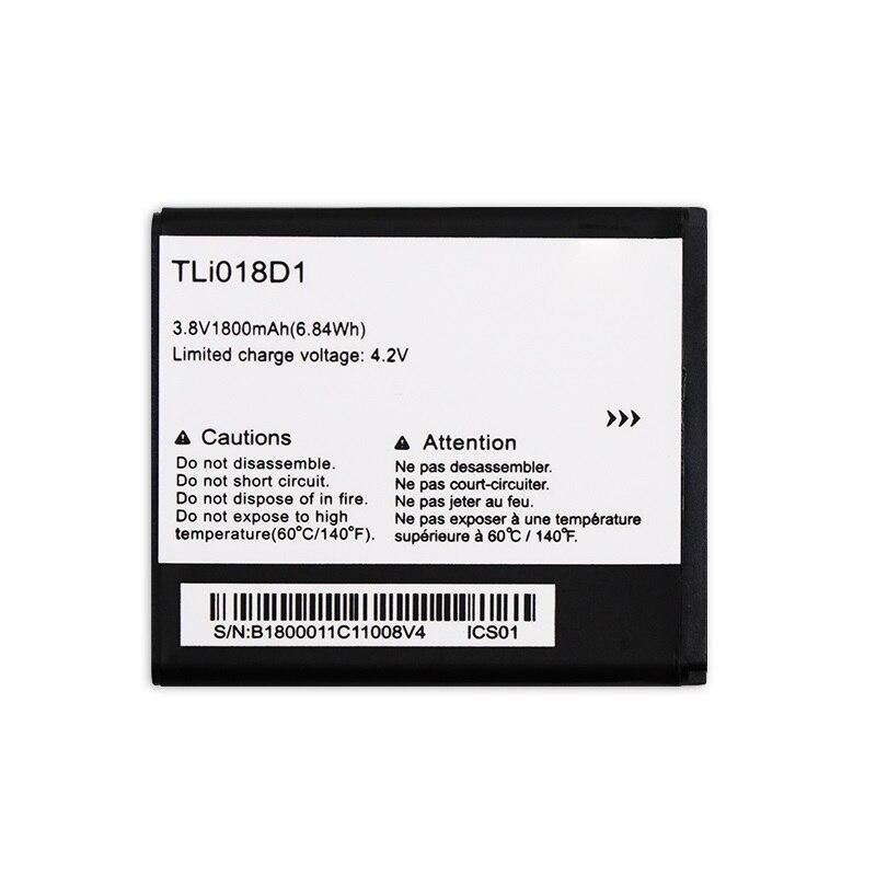 New 1800mAh TLi018D1 Battery For Alcatel One Touch OT-5038 OT-5051D OT-5051X Pixi 35 5038D POPD5 POP D5 35