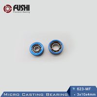 623 MF Micro Casting Bearing 3x10x4 Mm 1PC Use For Spinning Reel Water Wheel Bearings 623