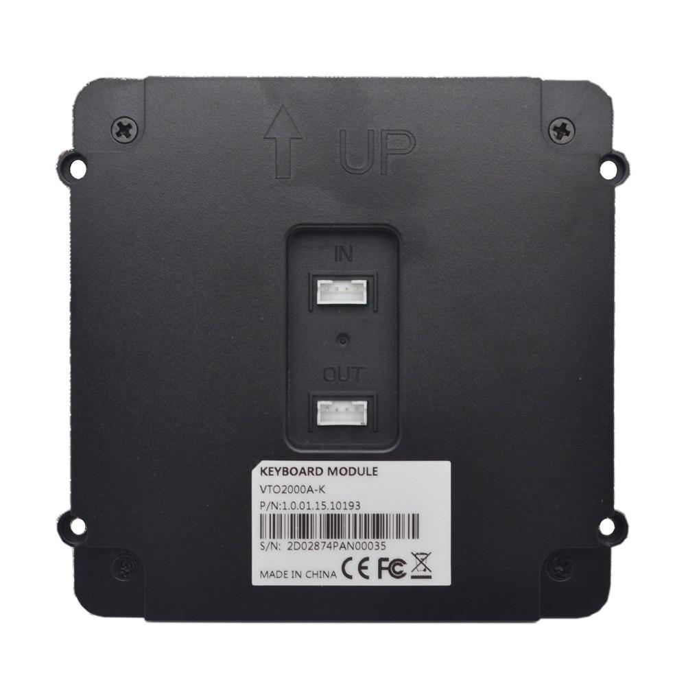 Módulo de teclado VTO2000A-K para VTO2000A-C, partes de timbre IP, - Seguridad y protección - foto 2