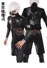 Custom made tokyo ghoul la seconda stagione kaneki ken battle suit costume uniform anime cosplay