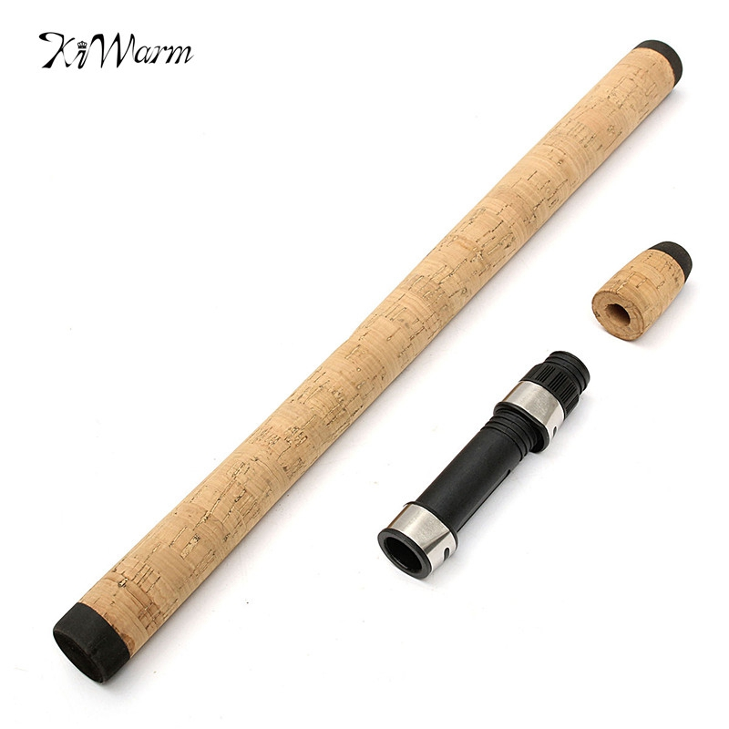 Fishing reel seat spinning rod handle cork grip for for Fishing reel handle replacement