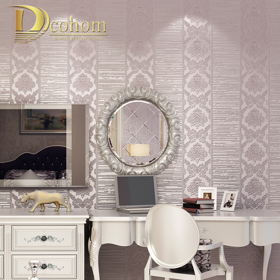 Popular beige damask wallpaper buy cheap beige damask Decoration kaki