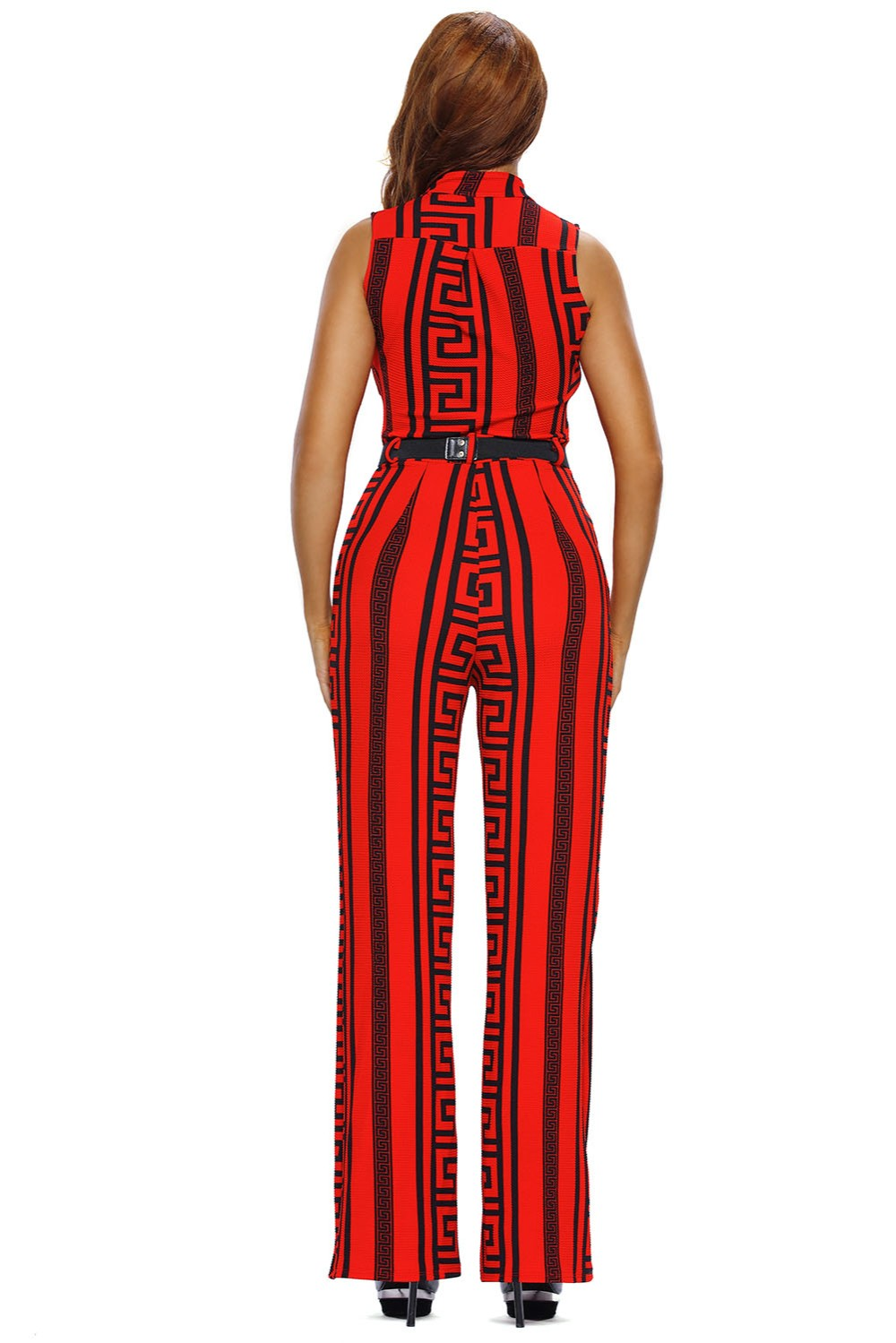 Red-Print-Gold-Belted-Jumpsuit-LC64021-3-4