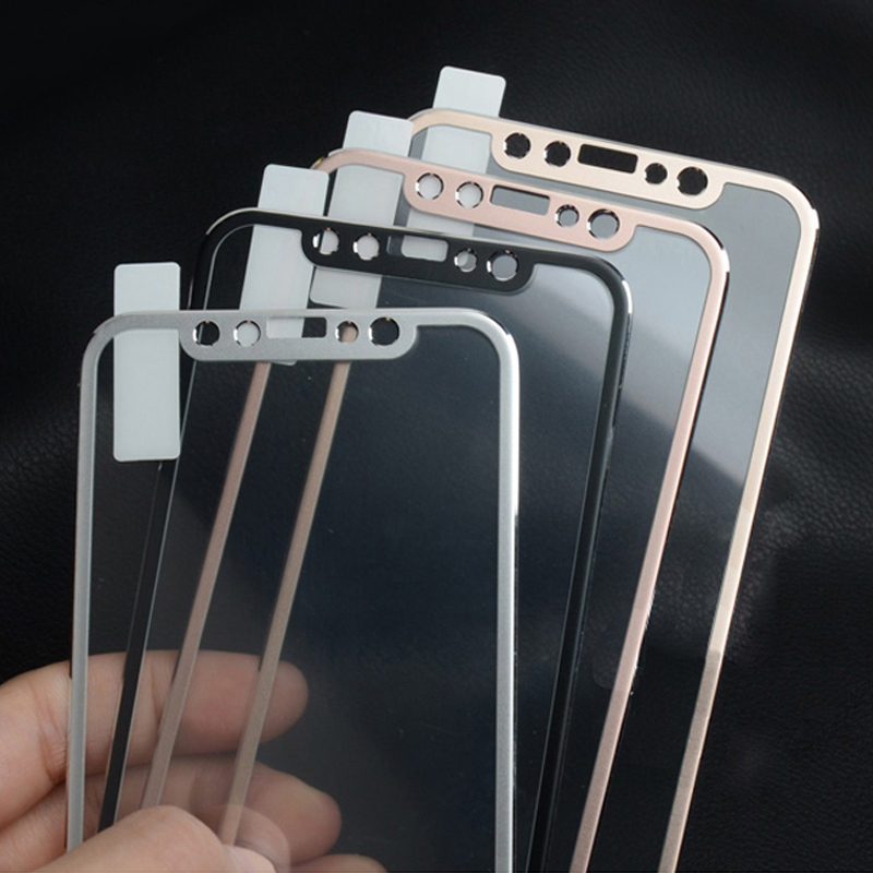 9H 10D Curved Edge Aluminum Alloy Tempered Glass For IPhone X XS MAX XR 11 Pro Max IPhoneX Full Coverage Screen Protector Film