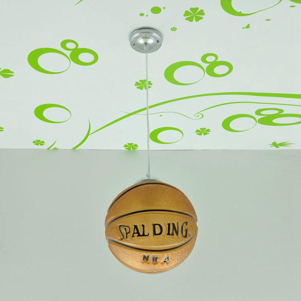 Kid' Bedroom Basketball/Football Pendant Light Children's Creative study room Pendant light Modern playroom Pendant Lamp