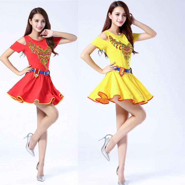 e07749551ed3 Female Modern Jazz dance costumes Girls Sequined Hip Hop dance wear ...