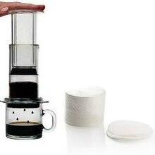 Бумажные фильтры для кофе, чайник Moka, итальянский горшок с капельным фильтром, одноразовые Профессиональные кухонные инструменты, 350 шт., новинка