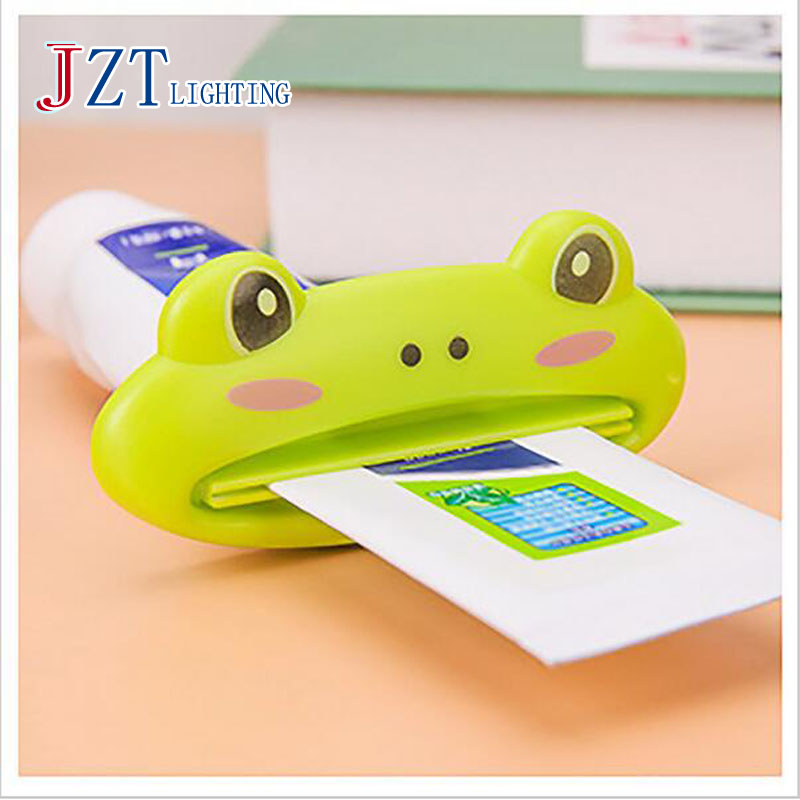 Z Bathroom Tube Rolling Holder Squeezer Cartoon Lip Toothpaste Squeezing Device Toothpaste Clamp Extrusion Christmas Gift