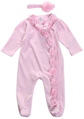 5c69e6c6c55c6 2016 New Cute 3 6 9 Months Romper Jumpsuit Pajamas Baby Girls Outfit Clothes  Pink Infant Creepers Overalls Baby Girl Clothes