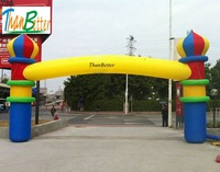 ThanBetter inflatable wedding archway/decoration wedding arch/inflatable entrance way for wedding