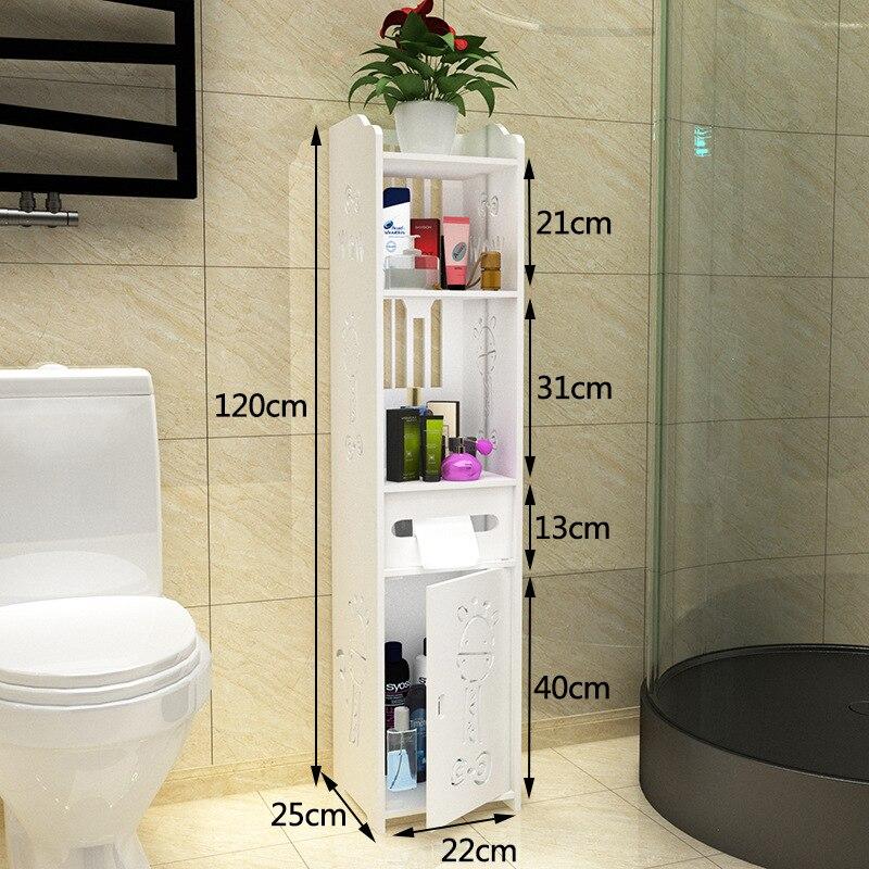 Magic Union Toilet Side Cabinets Bathroom Floorstanding Storage Shelves Toilets Lockers In Vanities From Home