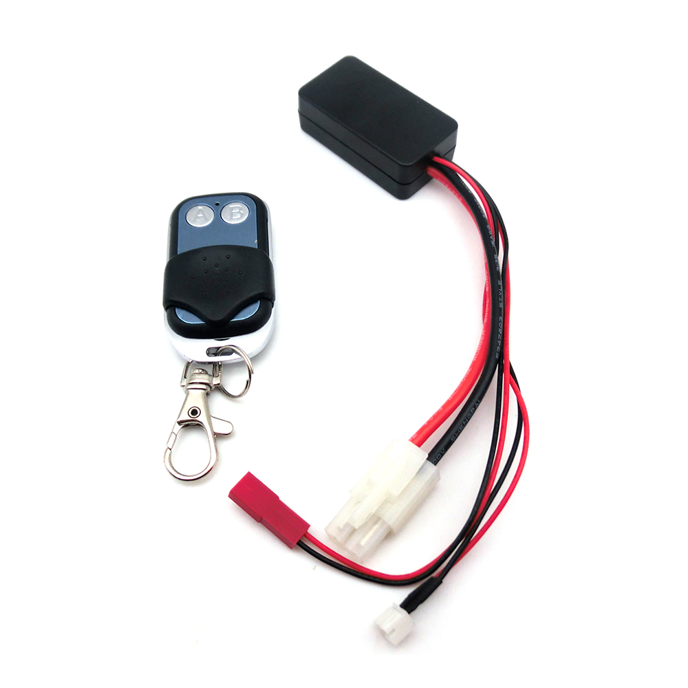 High Quality Winch Control Wireless Remote Receiver for 1 10 font b RC b font Crawler