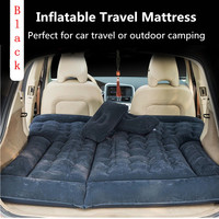 Goldhik Car Mobile Cushion Air Bed Oxford Fabric Inflatable Mattress Car Travel Camping Universal Extended Air