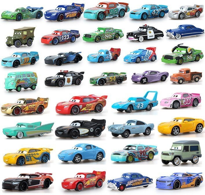 Disney Pixar Cars And Tractor Diecast For Girls Women Children Gifts Loose Modle In Free Shipping Kids Toys Boys Panic Buying