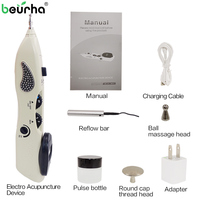 110/220V Acupuntura Pen Point Detector Electronic Acupuntura Massage Pain Therapy Electric Acupuncture Meridian Pen Health Care