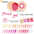 CANNI Nail Art Gel Paint 5ml Natural Camouflage Nude Color Series VENALISA New Design High Quality UV LED 2 in 1 Nail Gel