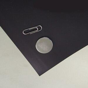 Image 4 - 5Pcs 0.75mm עצמי דבק רך גומי מגנטי גיליון לוח עבור Spellbinder מת/קרפט חזק דק וגמיש 297x210mm