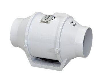 4 mixed flow inline duct fan ventilator plastic waterproof ceiling