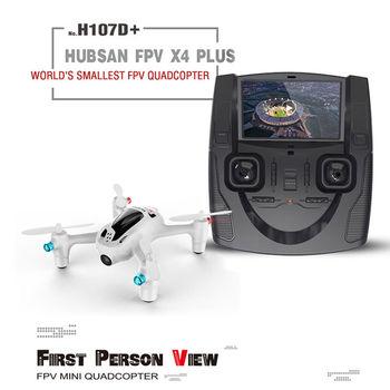 Original HUBSAN X4 PLUS H107D+ RC Quadcopter Drone 720P HD Camera 4.3 Inch LCD Remote