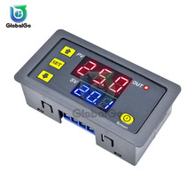 купить Digital Time Delay Relay LED Display Cycle Timer Control Switch Adjustable Timing Relay Time Delay Switch AC 110V 220V DC 12V дешево