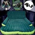 Dropshipping SUV Colchón Inflable Con Bomba de Aire Viajes Resto Dormir Colchones Camping pad Asiento Trasero Del Coche de DHL Libre