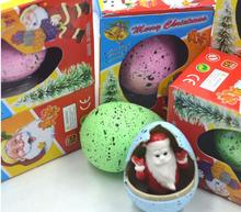 iWish Dinosaur Eggs Christmas Resurrection Egg Hatching Swelling Toys Incubation Swell Santa Claus Expansion Easter Day Sunday стоимость