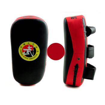 2 szt Kick boxing Strike zakrzywiona podkładka pod ramię MMA Focus Muay Thai Punch tarcza kopanie celu tanie i dobre opinie Kategoria z worków z piaskiem MMA Boxing Pads 3 lat black yellow black red black blue PU+EVA Male Female