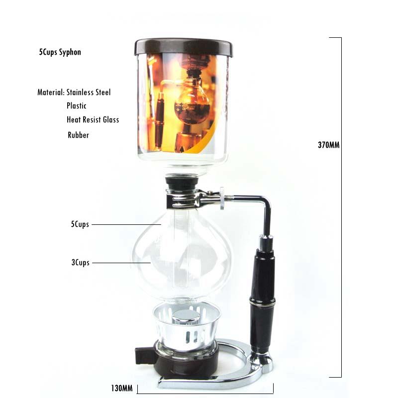 Di alta qualità del caffè Syphon Maker Tè//Caffè Sifone Makers sostituzioni